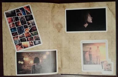Life Is Strange Artbook /back by Tzunny