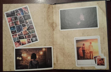 Life Is Strange Artbook /different light by Tzunny