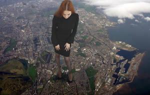 Edinburgh At My Feet by Amarie-Tinuviel