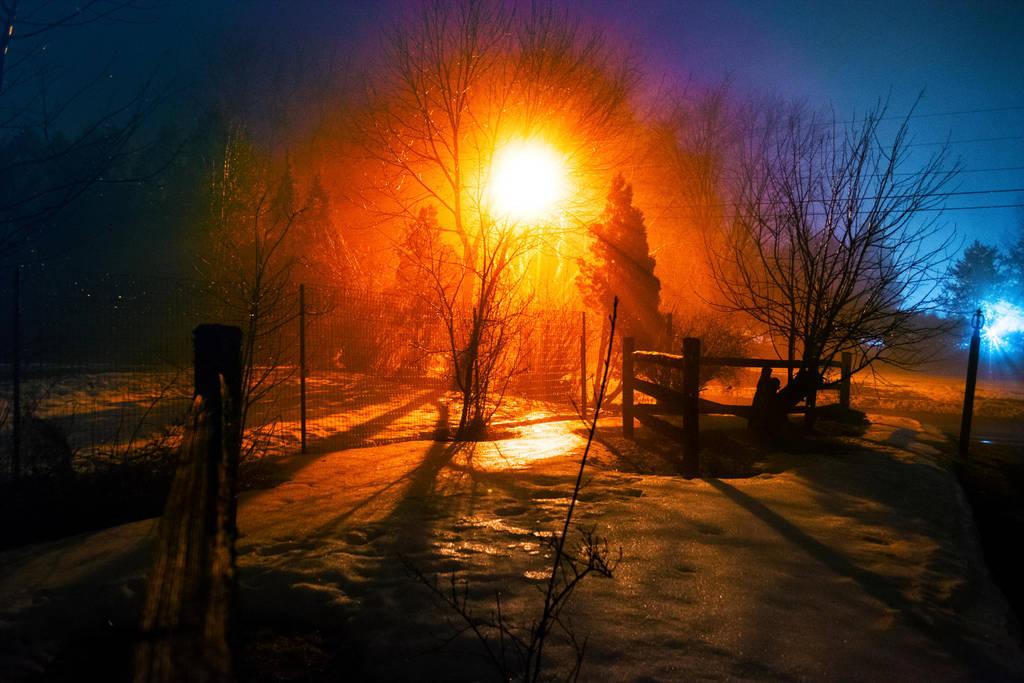 Rainbow street light by screenname911