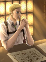 Commander Erwin Smith by Jeannette11