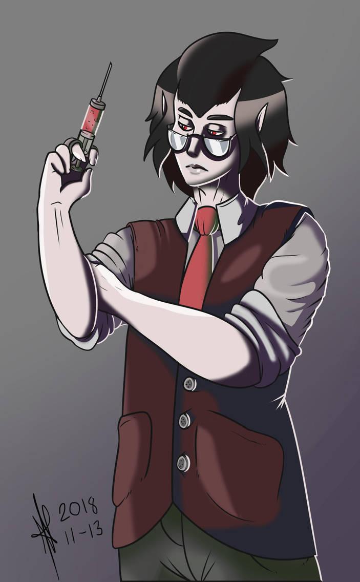 Vampire Physician by SesameSeeder