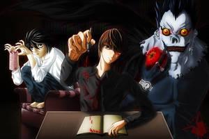 Death Note - Sakujo by Vic-Soh