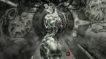 In the Sibyl's Lair - Cyber Oracle by atomcyber