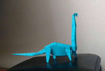 Day 21 Diplodocus by Klsw
