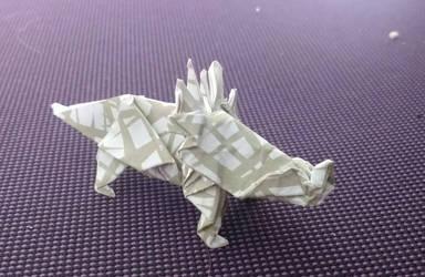 Day 26 Styracosaurus by Klsw