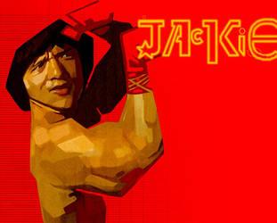 Jackie 'El Chino' by akenoomokoto