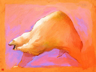 Polar Bear by akenoomokoto