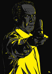 Clint Eastwood by xKaref