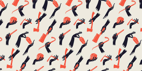 Pattern hand by xKaref