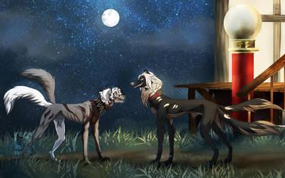 Friends (remake) by LunaShadowsWolf