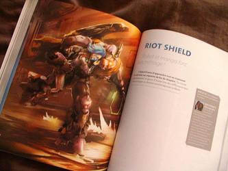 Riot Shield Press Release by DLapkine