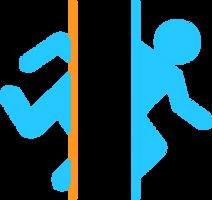 Adesivo Portal logo by mmassafera