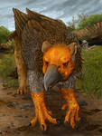 Pleistocene Gryphon by Ciameth