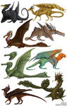 Dragon Designs by Ciameth