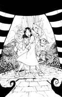 Wizard of OZ inks by JeremyTreece