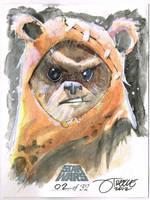 SW - Ewok by JeremyTreece