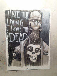 Hate the Living Love the Dead by JeremyTreece