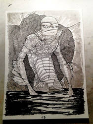 the Creature from the Black Lagoon by JeremyTreece