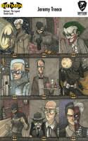 Batman : the Legend by JeremyTreece