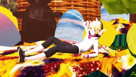 Bunny Says Happy Easter by xXWillyWonkaXx