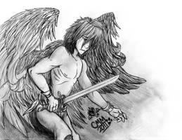 Fallen Angel by CarmanMM-Dirda