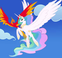 mlp:fim Dancing Through the Sky by emeralddarkness