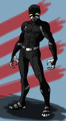 Black Panther Redesign by toekneearrows