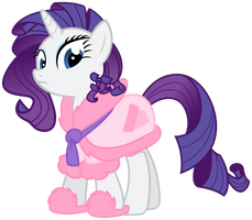 Rarity - House Coat by bobsicle0
