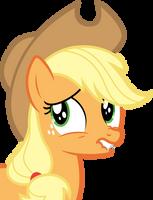 Applejack - Nervous by bobsicle0