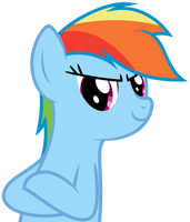 Impromptu Vector - Rainbow Dash by bobsicle0