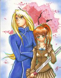 Kei Taiho and Youko by chibiansem02