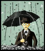 Fernando Pessoa by GabKT