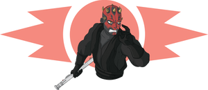 STAR WARS - Darth Maul (episode I) by GabKT