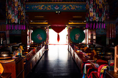 Enchey Monastery by DavidNowak