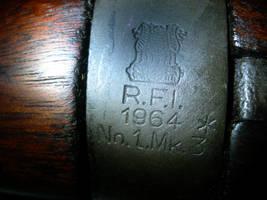 Detail: Lee Enfield Marking by Wolfie303