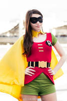 AE as Robin - gender bender version from '60 show by AE-cosplay