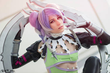 Ae as Tira from Soul Calibur V by AE-cosplay