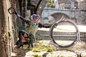 Ae as Tira from Soul Calibur V for Multiplayer.it by AE-cosplay