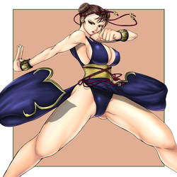chun-li 4 by marchinx1