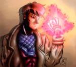 Gambit - manga style by FantasticMystery