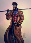Gambit colored by FantasticMystery
