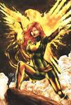 Jean Grey / Phoenix (colors) by FantasticMystery