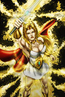 SHE-RA (colors) by FantasticMystery