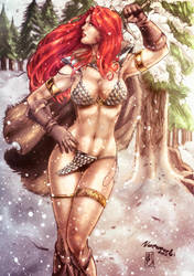 Red Sonja (colors) by FantasticMystery