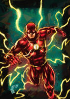 THE FLASH (colors) by FantasticMystery
