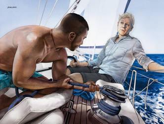 Star Trek Discovery - Sail On, My Hearty by Jemppu