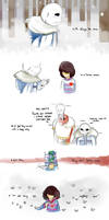 Just a game (Undertale comic) by the-guardian358