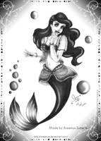 Ariel-The Little Mermaid by areemus