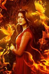 Phoenix Princess by areemus